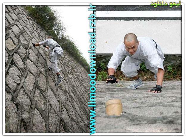 عکس: از دیوار کاملا صاف بالا رفتن یعنی این