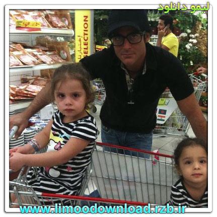 عکس محمدرضا گلزار به همراه 2تا دختر!!!
