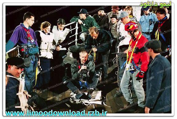 انتشار تصاویر پشت صحنه فیلم تایتانیک