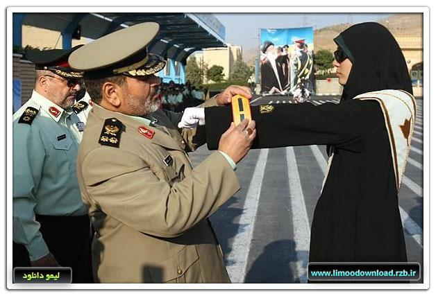 عکس:ارتقاء درجه پرسنل زن نیروی انتظامی